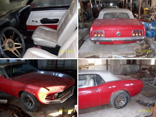 1970 Mustang Convertible Barn Find.Bmp