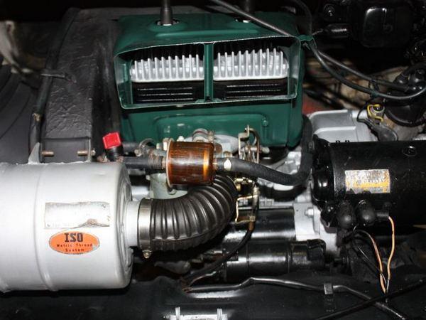 1970 Subaru 360 Yacht Engine