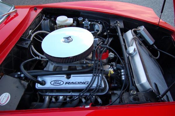 1970 Intermeccania Italia Engine