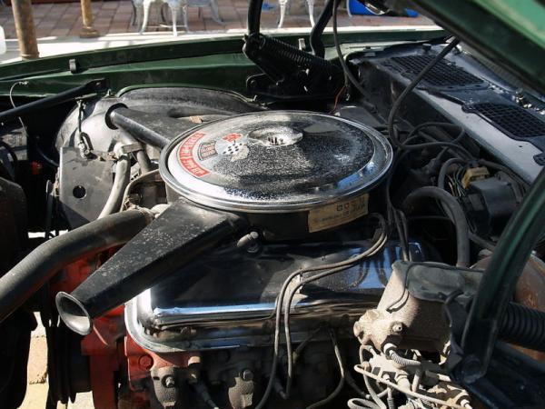 1970 Chevrolet Camaro Engine