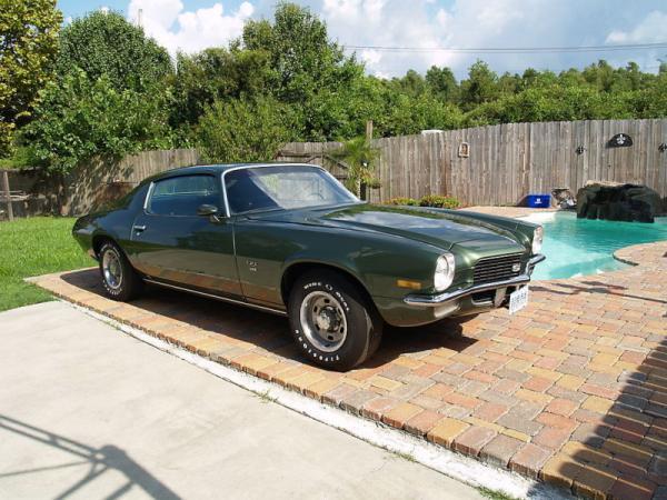 Swamp Thing 1970 Camaro SS L78