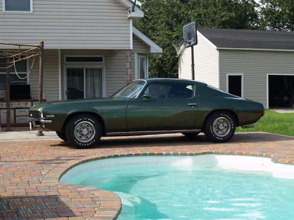 1970 Chevrolet Camaro Side