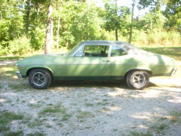 1970 Chevrolet Nova Ss 396 Side