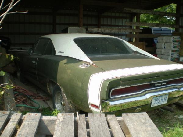 Heartland Barn Find: 1970 Dodge Charger 500