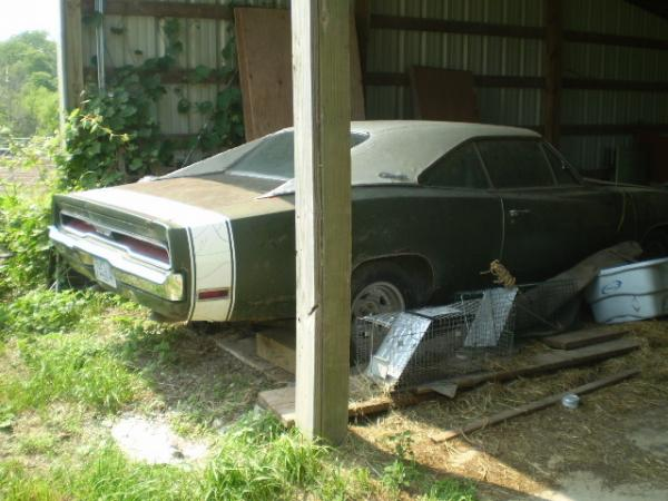 1970 Dodge Charger 500 Right Rear Corner
