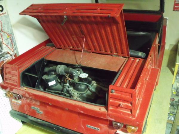 1970 Fiat 500 Moretti Minimax Engine