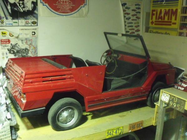 1970 Fiat 500 Moretti Minimax Rear Corner