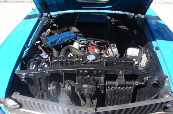 1970 Ford Mustang Boss 302 Engine Bay