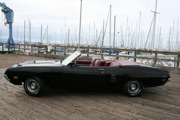 1970 Ford Torino Gt Convertible Side