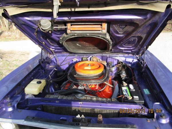 1970 Plymouth Roadrunner Engine