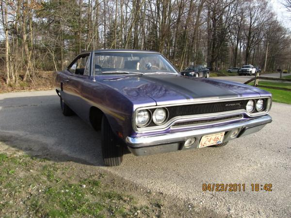 1970 Plymouth Roadrunner Front