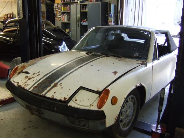 1970 Porsche 914 6 Front Corner