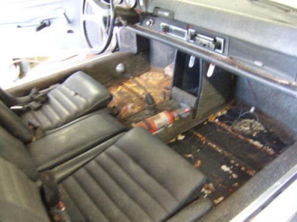 1970 Porsche 914 6 Interior