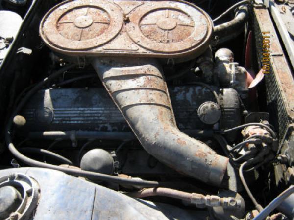 1971 Bmw 2800cs Barn Find Engine