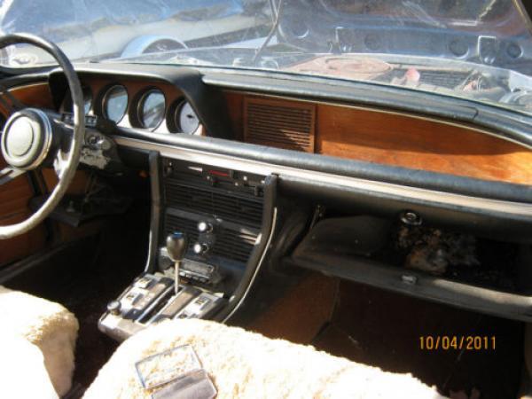 1971 Bmw 2800cs Barn Find Interior
