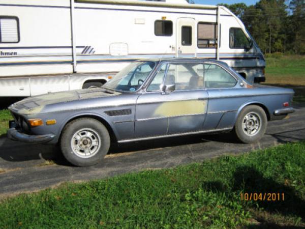 1971 Bmw 2800cs Barn Find