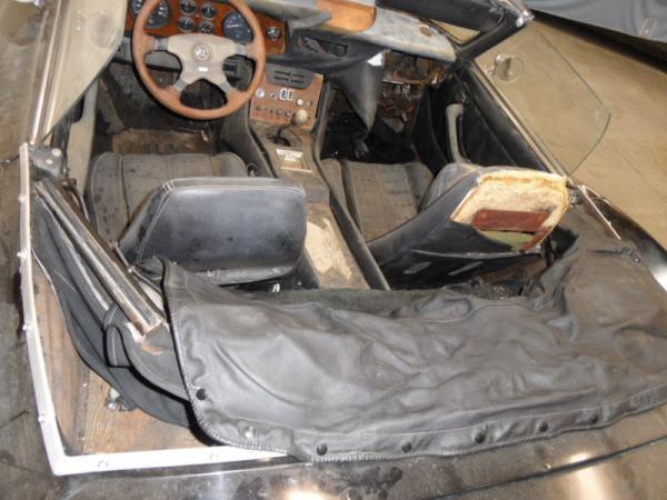 1971 Intermeccanica Italia Spyder Interior