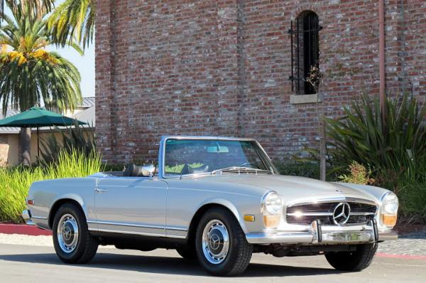 1971 Mercerdes 280 Sl Roadster