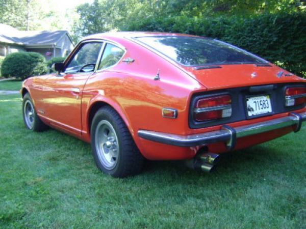1971 Datsun 240z Rear Corner