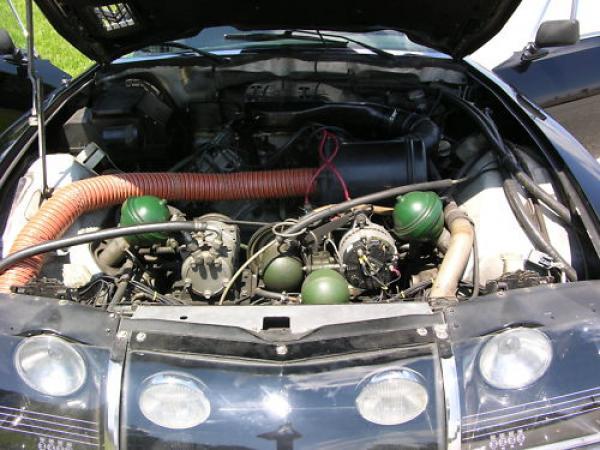 1972 Citroen Sm Engine