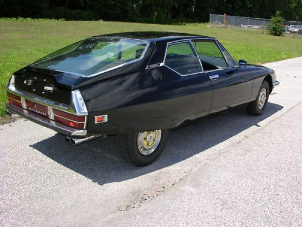 French Italian 1972 Citroen Sm