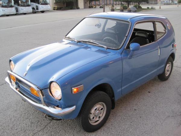 1972 Honda Z600 Front