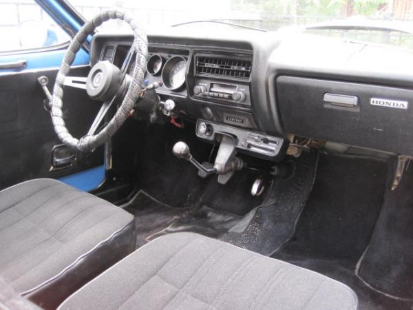 1972 Honda Z600 Interior