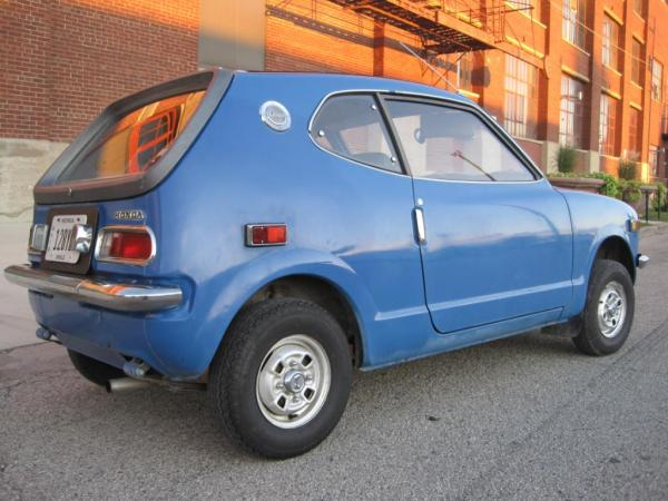 1972 Honda Z600 Rear