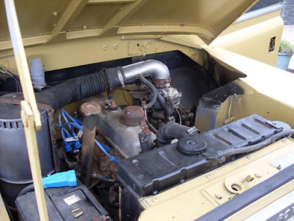 1972 Land Rover Series Iii Engine