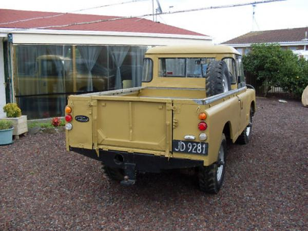 1972 Land Rover Series Iii Rear