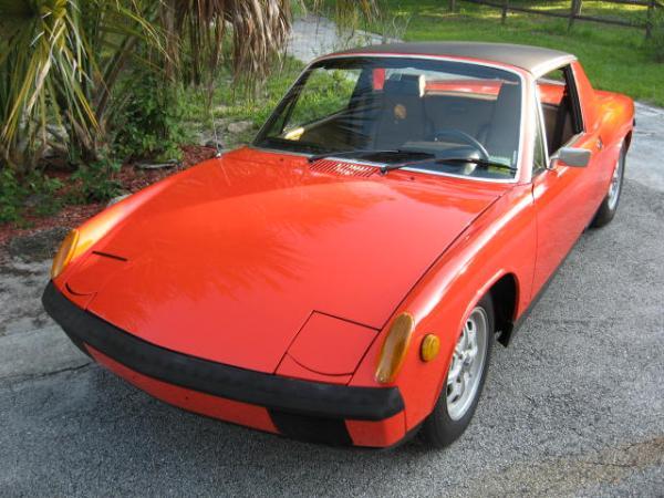 1972 Porsche 914 Front