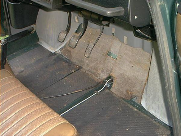 1972 Saab 96 Pedals
