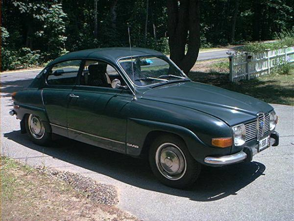 1972 Saab 96 Side