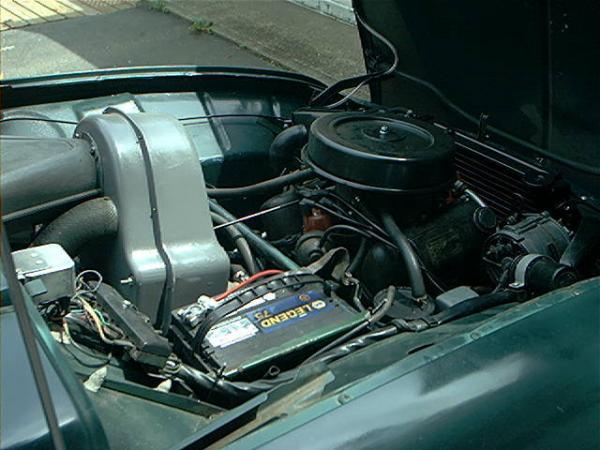 1972 Saab 96 V4 Engine