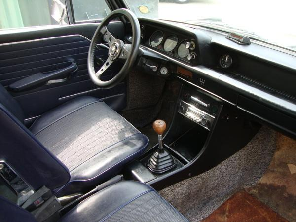 1972 Bmw 2002tii Interior Clean