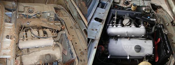 1972 Bmw 2002tii Motor Comparison