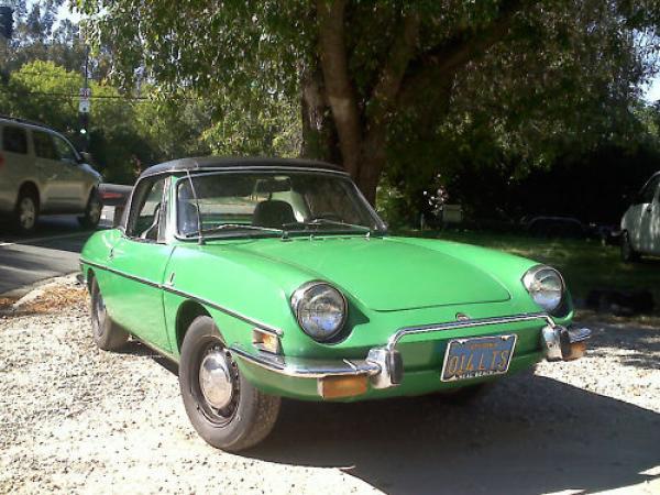 1972 Fiat 850 Spider Front Corner