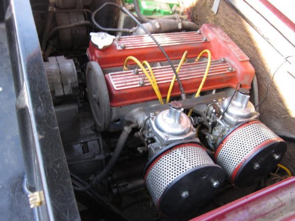 1972 Lotus Europa Engine