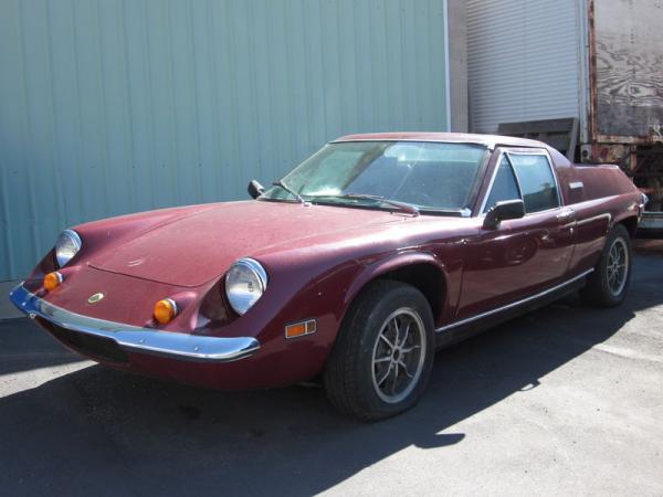 1972 Lotus Europa Front Corner