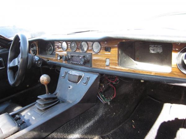 1972 Lotus Europa Interior
