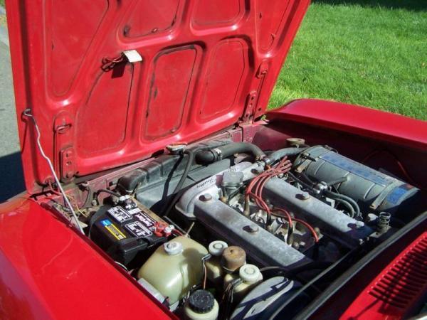 1973 Alfa Romeo Gtv Engine
