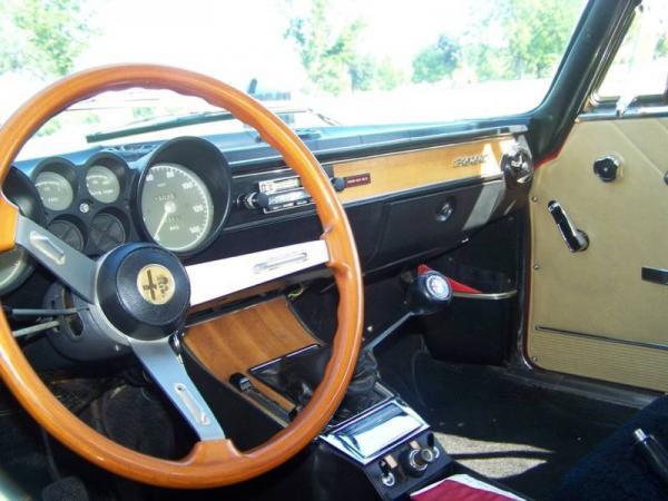 1973 Alfa Romeo Gtv Interior