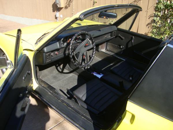 1973 Porsche 914 Dash
