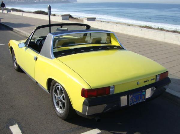 1973 Porsche 914 Rear