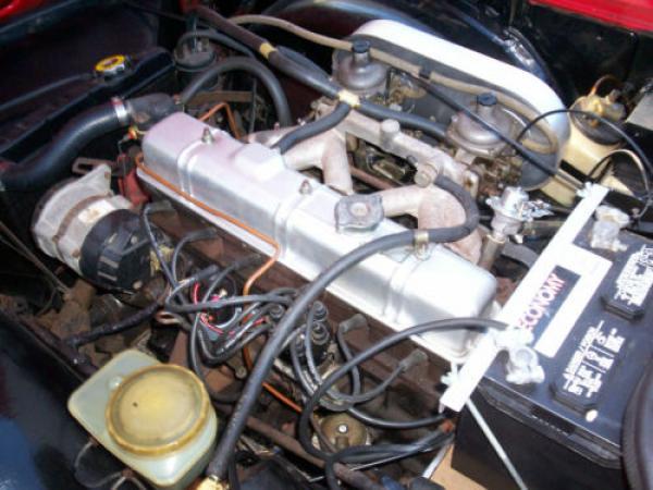 1973 Triumph Tr6 Driver Engine
