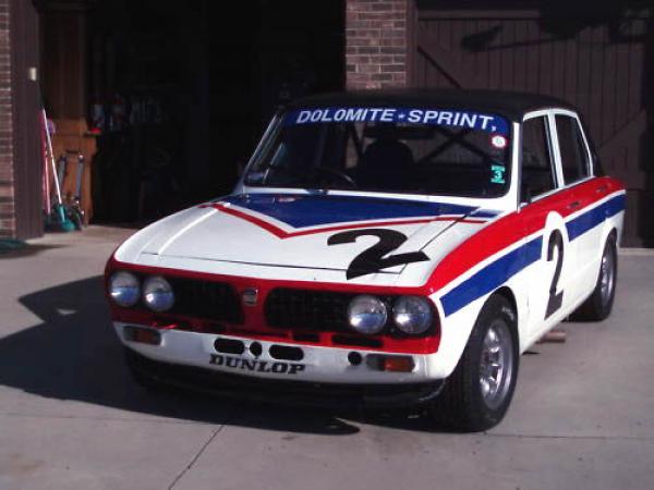 1973 Triumph Dolomite Sprint Race Front