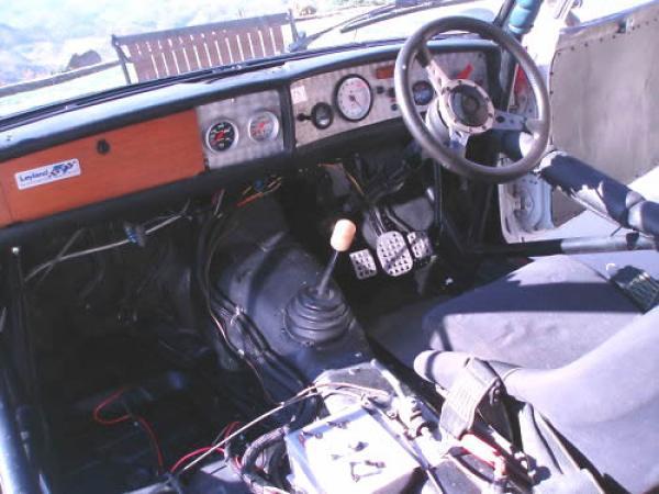 1973 Triumph Dolomite Sprint Race Interior
