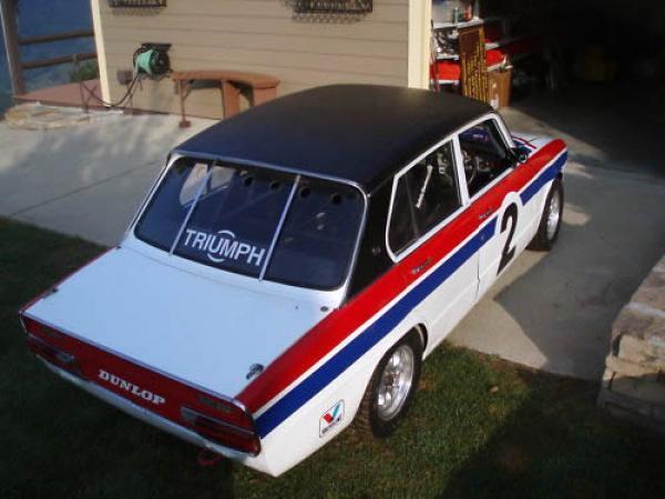 1973 Triumph Dolomite Sprint Race Rear