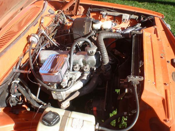 1974 Volvo 144 California Edition Engine