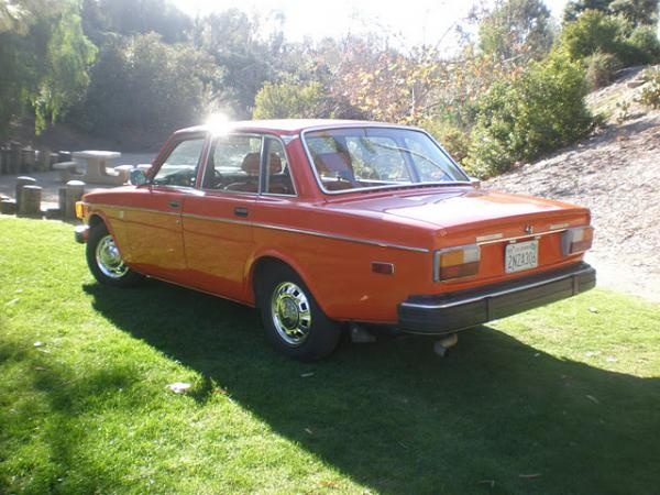 1974 Volvo 144 California Edition Rear Corner